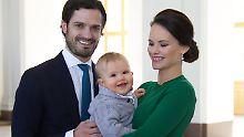 Schwedische Royals im Akkord: Prinzessin Sofia ist wieder schwanger