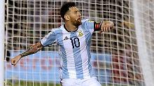 Erzielte den Siegtreffer per Elfmeter: Messi.