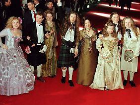 Ja, früher trugen sie schon etwas seltsame Klamotten ...
