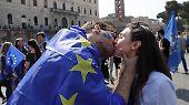EU feiert 60. Jubiläum in Rom: Lächeln fürs Familienalbum