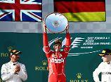 Spannender Auftakt der F1-Saison: Vettel holt den Sieg in Melbourne