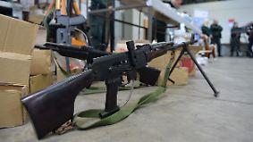 Großbritannien zerschlägt Schmugglerring: Illegaler Waffenhandel boomt