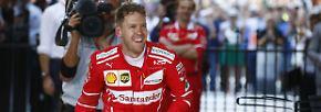 """Formel 1: """"War erst der Anfang"""": Vettel siegt und sagt Hamilton den Kampf an"""