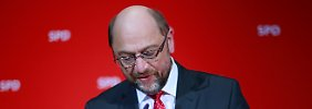 """Schulz räumt Niederlage ein: """"Wir haben das Ziel nicht erreicht"""""""