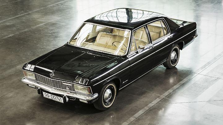 Der Opel Kapitän B durfte die Käufer von 1969 bis 1970 erfreuen.