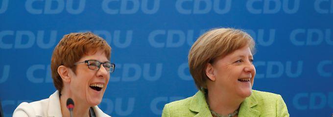 """""""Gestern war ein schöner Tag"""": Kanzlerin nennt Saar-Wahl """"ermutigend"""""""