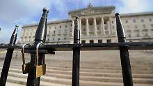 Regierungskrise in Belfast: London gibt Nordirland kurzen Aufschub