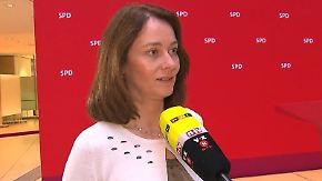 """""""Merkel ist keine starke Titelverteidigerin"""": Barley bestreitet Signalwirkung der Saarland-Wahl"""