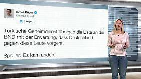 n-tv Netzreporterin: So reagiert das Netz auf türkische Spione in Deutschland