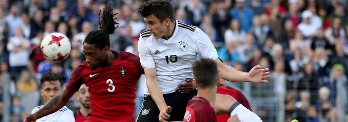 Es war ein umkämpftes Spiel - letztlich muss Deutschlands U21 die erste Heimniederlage seit 2009 hinnehmen.