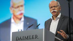 Unruhe unter Daimler-Anlegern: Zetsche muss die Wogen glätten