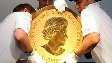 Spektakulärer Raub in Berlin: Keine heiße Spur zu 100-Kilo-Goldmünze