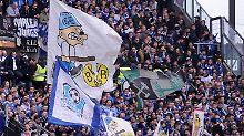 Einstimmung: Schalker Fans beim 1:0 in Mainz am 25. Spieltag.
