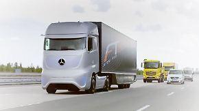 Mit Abstand am sichersten: Technik in Lkw soll Unfalltote verhindern