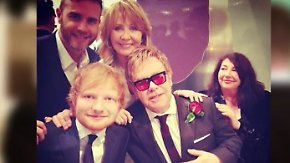 Promi-News des Tages: Elton John gibt Ed Sheeran Diät-Tipps