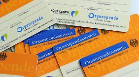 Fehlendes Vertrauen, wenig Aufklärung: Zahl der Organspender sinkt weiter