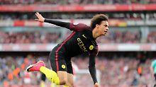 Wieder kein Dreier für Arsenal: Sané und Mustafi rauben sich den Sieg