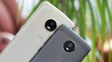 Günstig und gut - reicht das?: Moto G5 und G5 Plus bieten viel fürs Geld