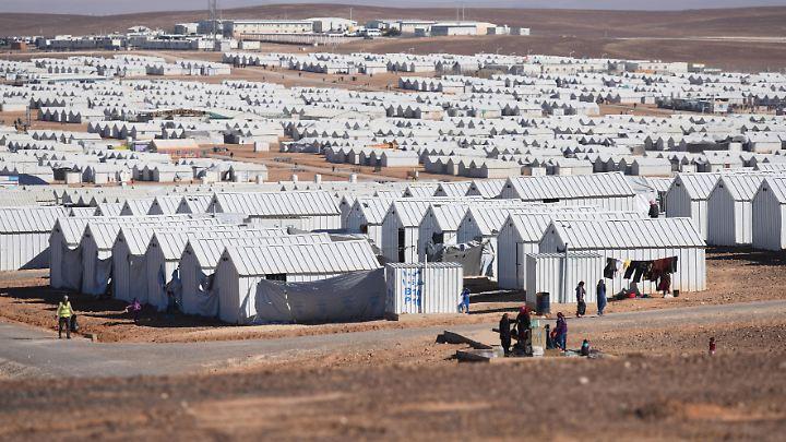 In Jordanien haben Hunderttausende Syrer Zuflucht gefunden.
