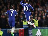 Kann hoch hüpfen, wenn er sich freut: Eden Hazard.