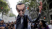 Boykott gegen Präsident Macri: Darum steht Argentinien heute still