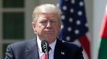 """Syrien und Nordkorea: Trump macht, was er früher für """"dumm"""" hielt"""