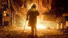 Strafzölle in den USA: Salzgitter-Kurs gerät in Bedrängnis