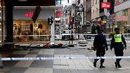 """Lkw rast in Menge: """"Schweden ist angegriffen worden"""""""