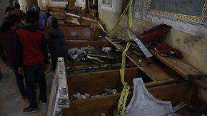 IS reklamiert Anschläge für sich: Über 40 Kopten sterben bei Attentaten in Ägypten
