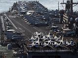 Irritationen über Einsatzziel: US-Flugzeugträger fuhr Richtung Australien