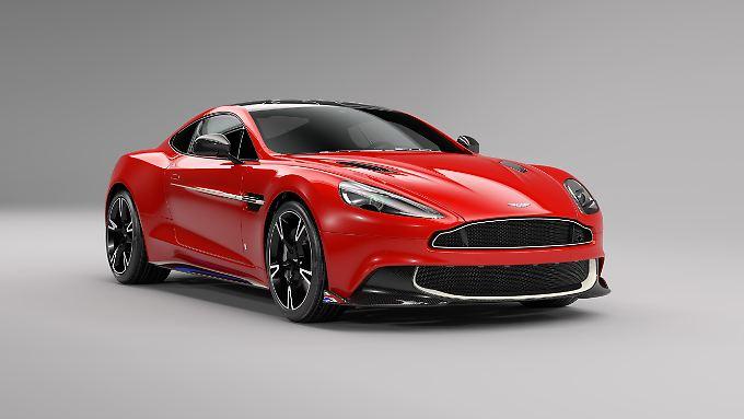 """Der Aston Martin Vanquish S """"Red Arrows Edition"""" ist eine Hommage an die gleichnamige Kunstflugstaffel."""