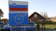 Kroatien, Slowenien, Ungarn: EU-Länder lockern Grenzkontrollen wieder