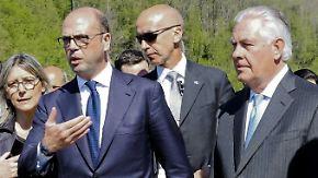 """Außenminister-Treffen in Italien: """"Die USA haben keine ausgearbeitete Syrien-Politik"""""""