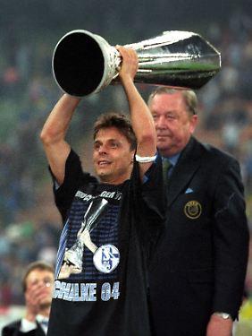 San Siro, 21. Mai 1997: stolz wie Olaf.