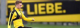 Ein Liebling ist zurück bei der Borussia: Marco Reus kann wieder spielen.