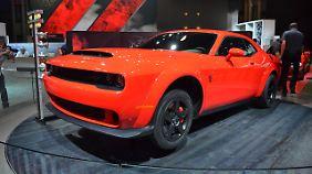 Der Dodge Challenger SRT Demon ist böser als das Hellcat.