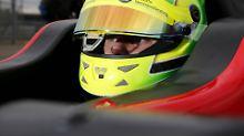 Erstes Rennen in der Formel 3: Mick Schumacher debütiert sehr passabel