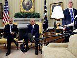 Besucher bleiben geheim: Trump bricht mit Obamas Transparenz