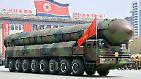 Parade, Pomp und Provokationen: Nordkorea präsentiert sein Waffenarsenal
