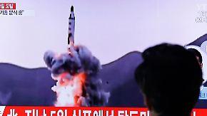 Provokation nach Militärparade: Nordkoreas neuer Raketentest scheitert