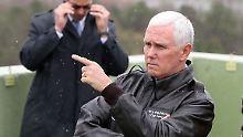 """Politik der Geduld ist zu Ende"": Pence warnt Nordkorea"