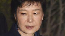 Südkoreanische Affäre: Ex-Präsidentin Park wird angeklagt