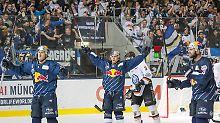 Wolfsburg verliert Finalserie: München bleibt deutscher Eishockey-Meister