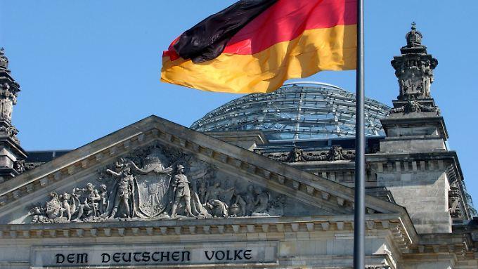 """""""Allein unter Deutschen"""": Eine Botschaft an das Volk."""