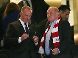 """FC Bayern leidet und tritt nach: Rummenigge: """"Wir sind beschissen worden"""""""