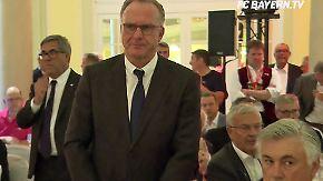 """""""Wir sind beschissen worden"""": Rummenigge wettert gegen Schiedsrichter"""
