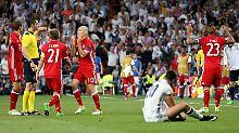 Die Bayern sind die geschlagenen. Gegen Real Madrid scheiden sie im Viertelfinale der Champions League aus.