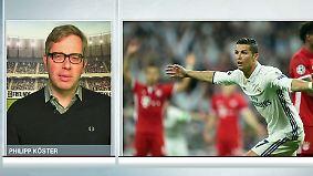 """Philipp Köster zum CL-Viertelfinale: """"Ronaldo war einfach zu stark für die Bayern"""""""