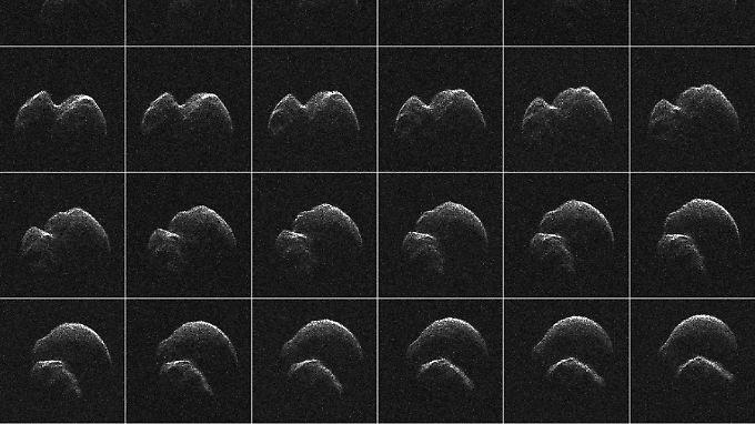 Mittels Radar aufgenommen: Bilder des Asteroiden 2014 JO25.
