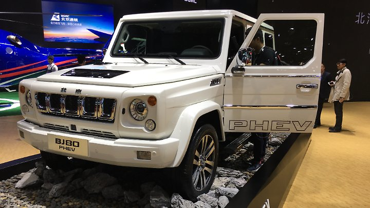 Mercedes G-Klasse als Hybrid? Gibt's nicht? Doch in China!